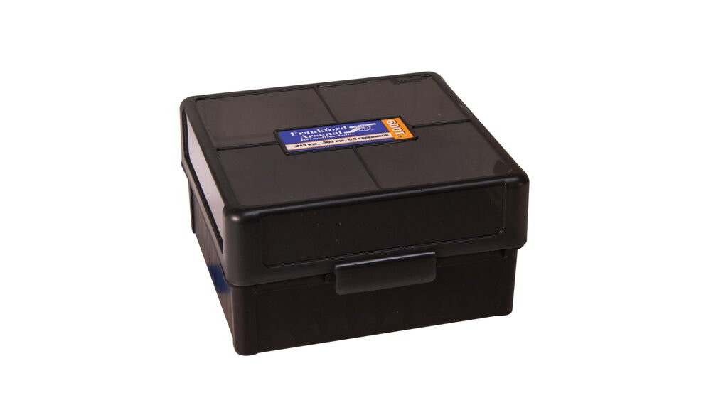 HINGE TOP AMMO BOXES - 100 ROUND CAPACITY