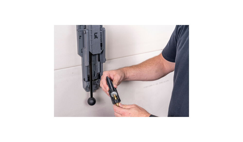 Pile Driver Bullet Puller - Carrier Assembly