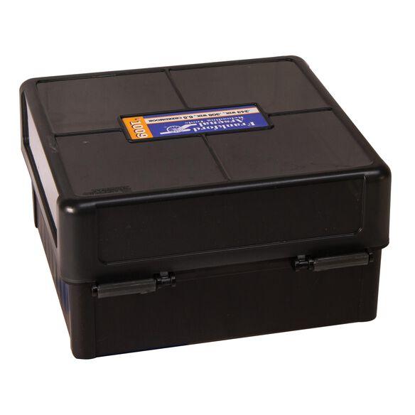 HINGE TOP AMMO BOXES - 100 ROUND CAPACITY