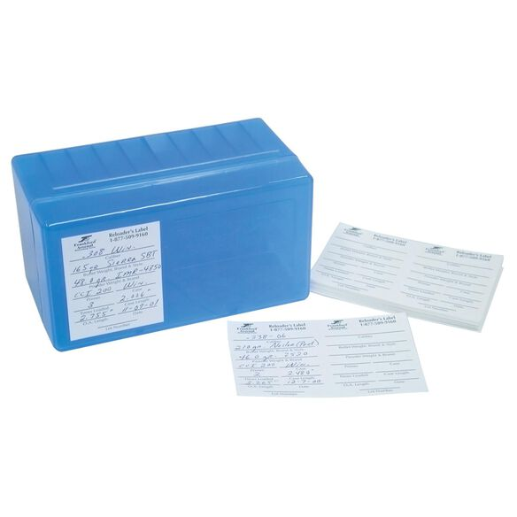 Pistol and Rifle Reloader's Labels - 100 Pack