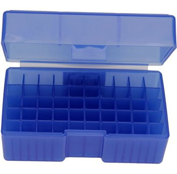 #512, 22BR, 6.8 Rem SPC, 7.62x39 50 ct. Ammo Box (Must order in Multiples of 10)