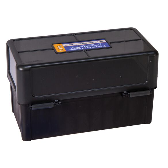 Hinge-Top Ammo Boxes - 50 Round Capacity