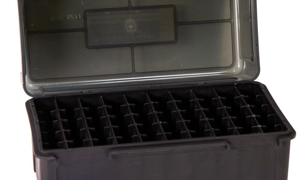 Hinge-Top Ammo Boxes - 50 Round Capacity